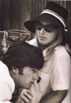 """John and Cynthia's art school classmate, Michael Isaacson: """"She was very pretty, Bardot-like. I used to look at her from across the canteen, and then I heard she had been caught by that shit Lennon. They looked at each other adoringly, totally fixated."""""""