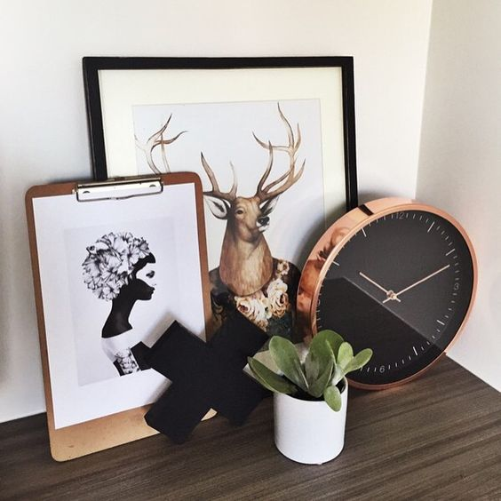 Lisa T Rose Gold Wall Clock. #lisatfortarget @kate.lives.here: