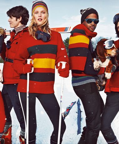 La collection Snow Chic de Tommy Hilfiger http://www.vogue.fr/mode/news-mode/articles/la-collection-snow-chic-de-tommy-hilfiger/16223