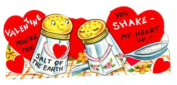 Vintage Valentine: You shake my heart up! by pageofbats, via Flickr