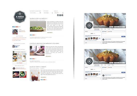 Aplicação no Blog e no Facebook