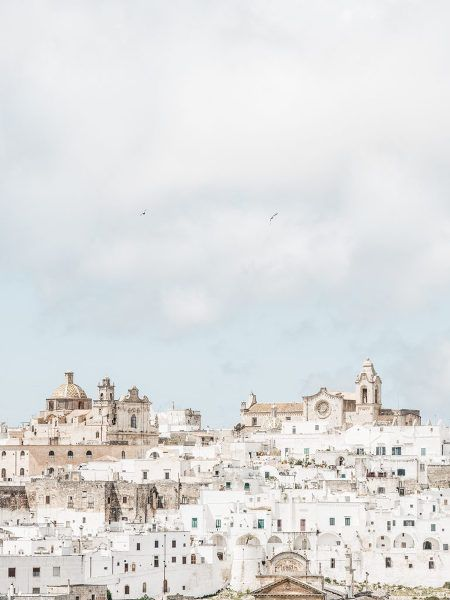 Beautiful view of Ostuni, Puglia, Italy. Photo: Kate Holstein: