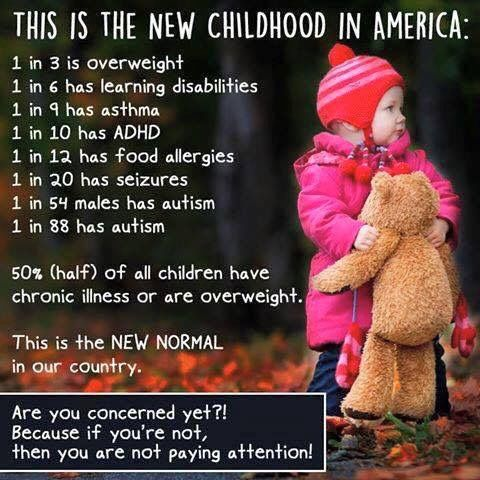 Unhealthy children. Pollution, sickness, medical corruption. Sustainable earth for people!
