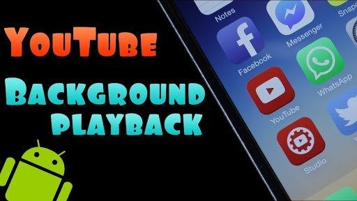Youtube Mod Tanpa Iklan 2020 With Background Playback For Android Android App Android Apps