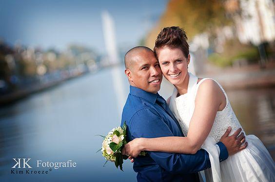 Trouwreportage Heli & Jose  www.kimkroeze.nl