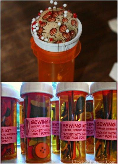 30 Genius Ways to Reuse and Repurpose Empty Pill Bottles - DIY & Crafts