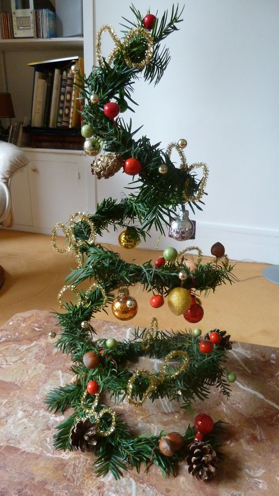 petit arbre de Noel  décorations Noël  Pinterest  Noel