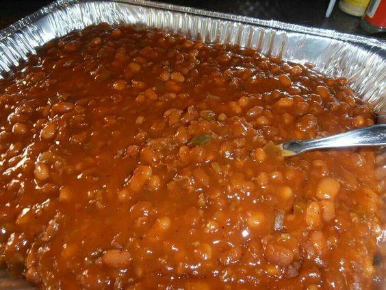 Cowboy beans. Janet's Appalachian kitchen