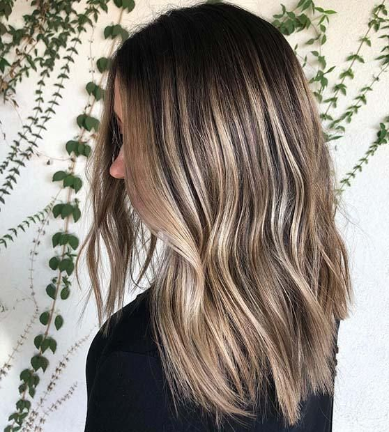 21 Chic Examples Of Black Hair With Blonde Highlights Blondehighlights Blondeha Black Hair With Blonde Highlights Hair Highlights Blonde Hair With Highlights