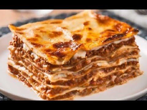 انسى اى لازانيا تانية طريقة عمل لازانيا رائعة باسهل طريقة وبدون سلق Traditional Lasagna Italian Recipes Authentic Recipes