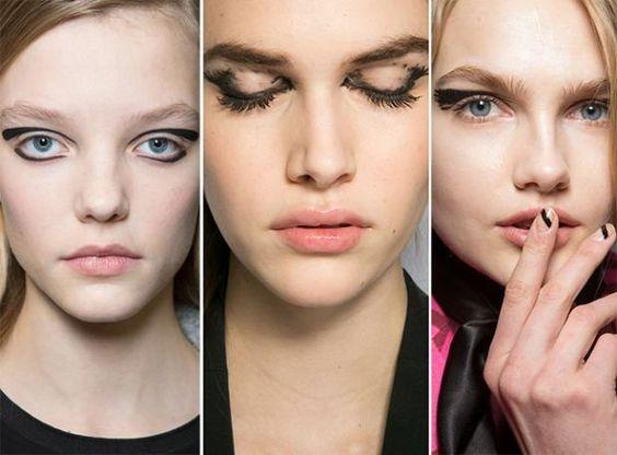 Outono / Inverno 2015-2016 Tendências de maquiagem - Fashionisers