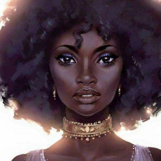 Afro Girl: