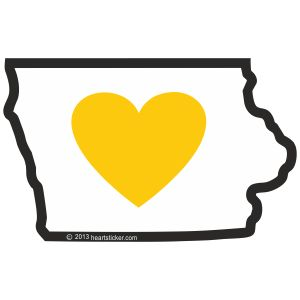 You can buy latest and different Iowa heart stickers and gifts at best price on our website. For more info please visit our website. #HeartInIowa #LoveIowa