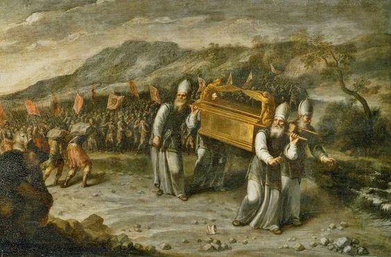 Según los antiguos escritos, el Arca de la Alianza guardaba en su interior los diez mandamientos  Cbb267c68f84b00e6f3ea5fb46e63b70