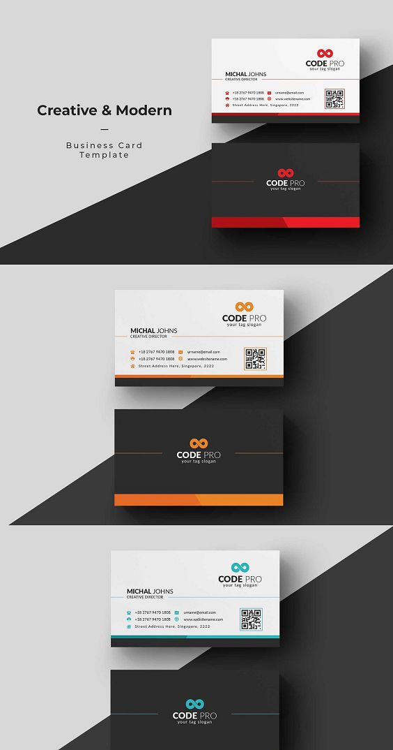 Business Card Colorful Business Card Business Cards With Photoshop Business Card Templ In 2020 Colorful Business Card Business Cards Creative Business Card Template