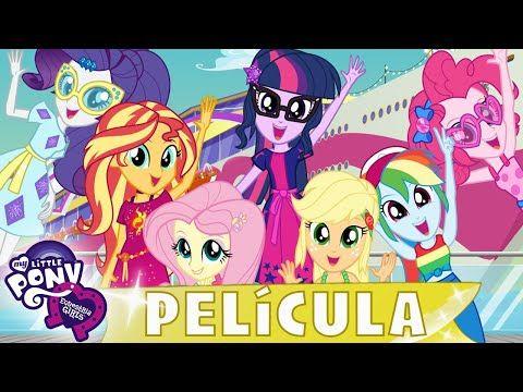 My Little Pony En Espanol Crisis Vacacional Pelicula Completa Mlp Equestria Girls Youtube Anime Equestria Girls Peliculas Completas