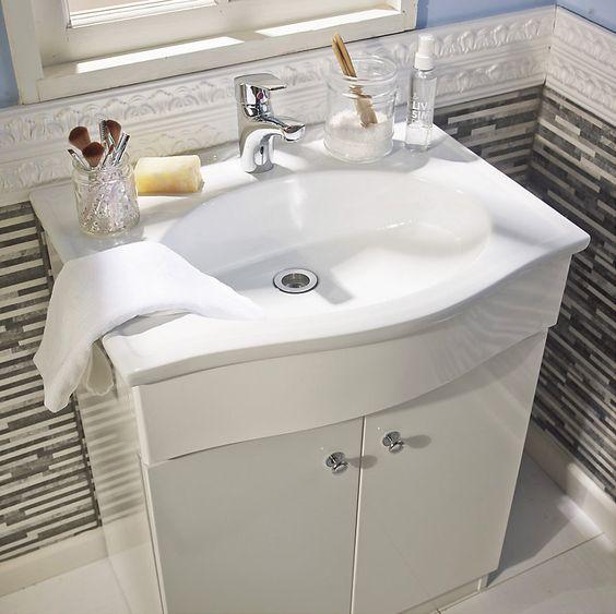 Decoracion Para Baños Homecenter: por el vanitorio 😉 #Sodimac #Homecenter #Decor #Deco #Diseño #baño