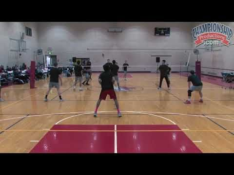 The Columbus Drill Is A Cooperative Drill That Requires Ball Control And Communication In The Video Clip Be Volleyball Drills Coaching Volleyball Tennis Drills