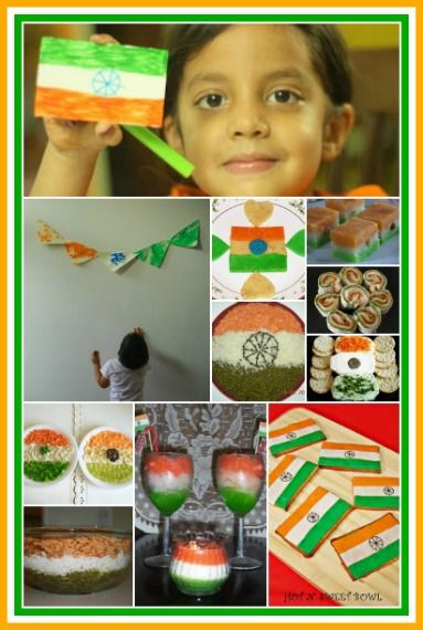 Indian Independence Day - Idea Round up!!! ~ Putti's World -kids-activities