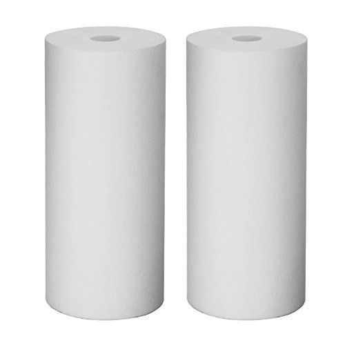 Foodking 20 Pack Of 5 Micron Sediment Filter Cartridge Whole House Polypropylene Pp Replacement Water Filter Cartr Water Filter Cartridge Sediment Water Filter