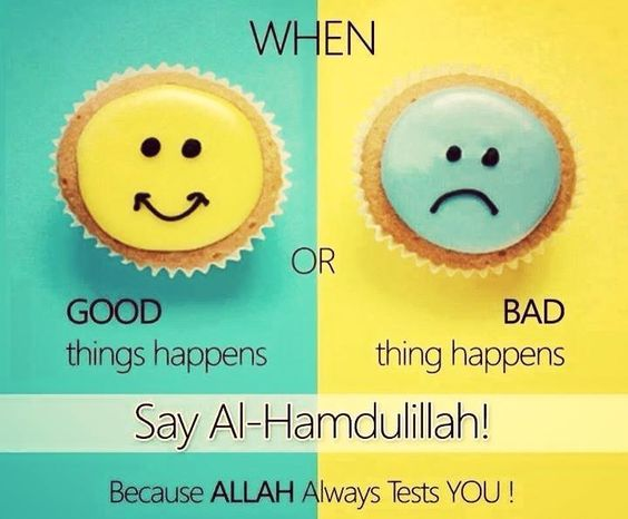 Say Alhamdulillah