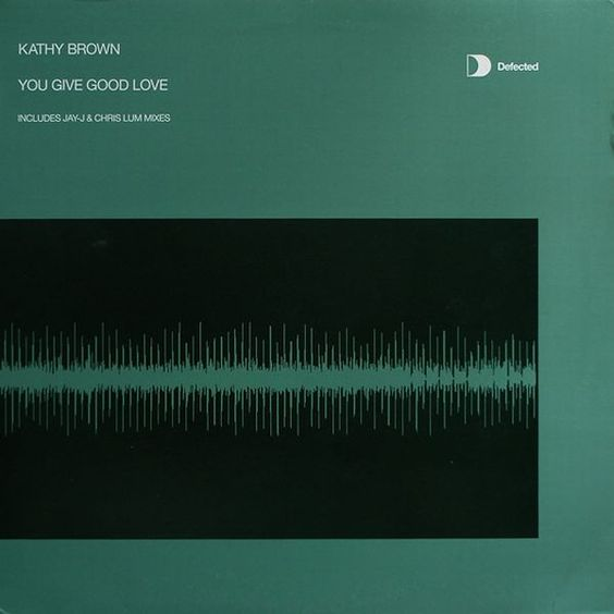 Kathy Brown – You Give Good Love (single cover art)