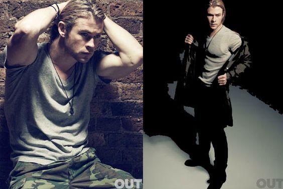 Chris Hemsworth...whoa