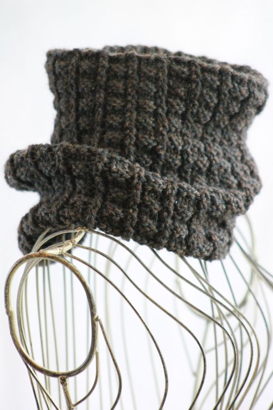 Free Knitting Patterns Neck Warmers Cowls : Pinterest   The world s catalog of ideas