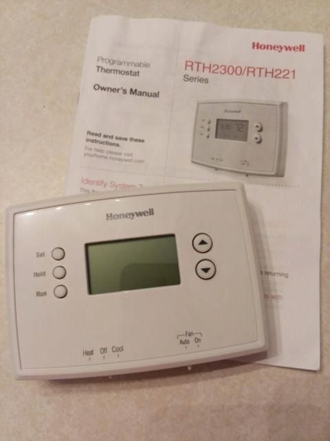 Wiring Diagram Honeywell Thermostat Rth221