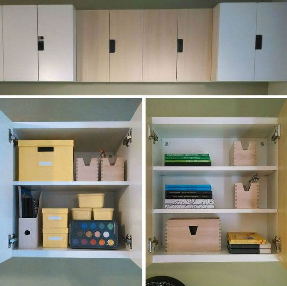 The STUVA storage unit is easy to personalize for your child's needs and tastes. Plus the soft-closing doors keep little fingers safe from pinches!: