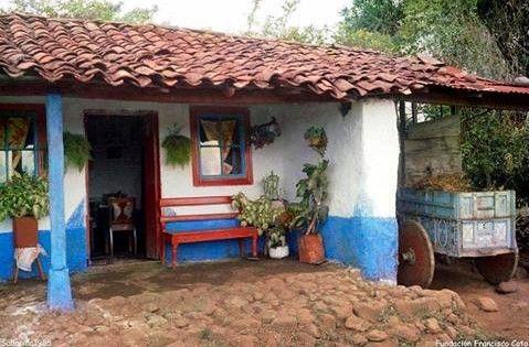 Casa tipica folcl rica arte paisajes pinterest - Casas tipicas andaluzas ...