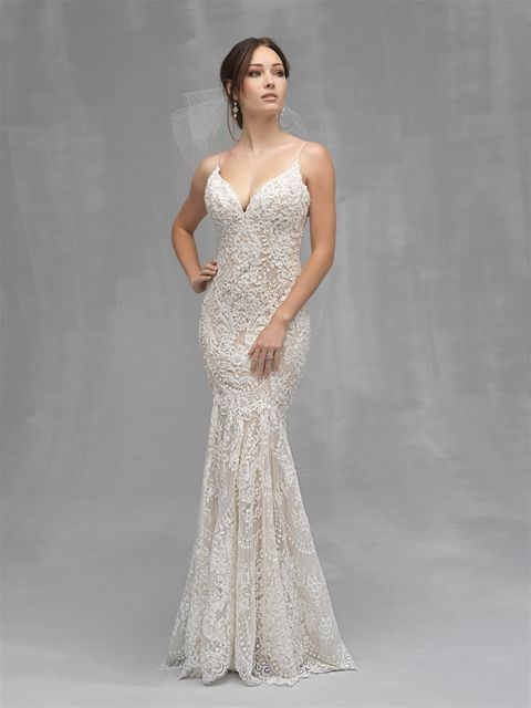 Allure Couture Wedding Dress C534 2019 Bella S Bridal And Formal Www Bellasalabama Com Ho Allure Bridal Allure Bridal Couture Fit And Flare Wedding Dress