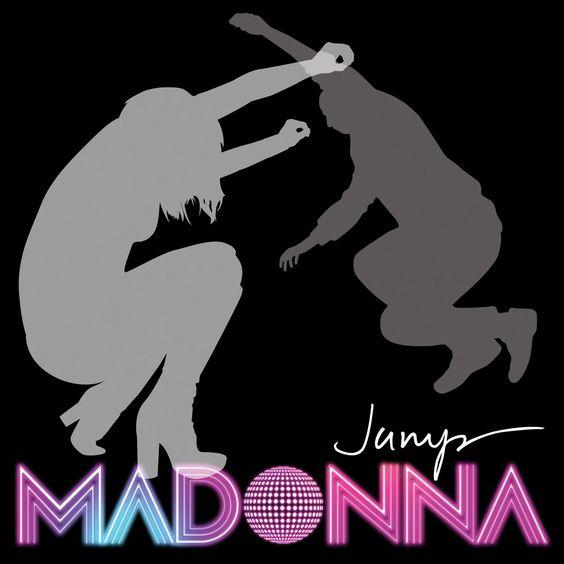 Madonna – Jump (single cover art)
