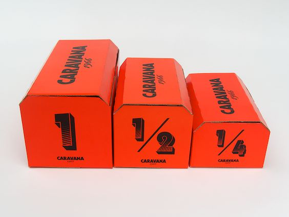Caravana / packaging