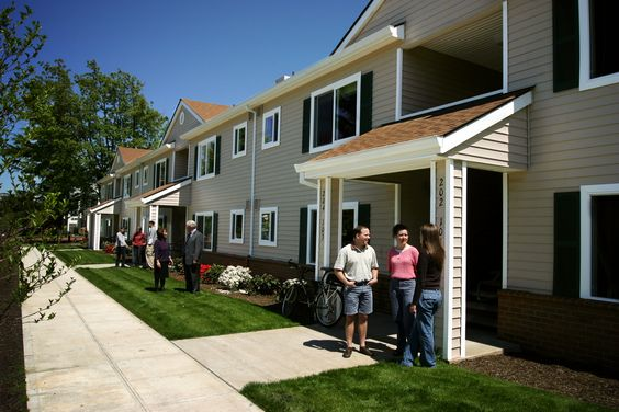Multnomah offers a variety of housing options including apartments for families, like Scruggs Apartments here.
