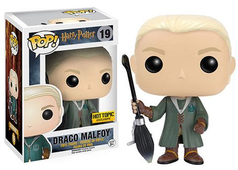 Lien ouvrant une photo plus grande du produit HARRY POTTER FUNKO POP! QUIDDITCH DRACO MALFOY EXCLU