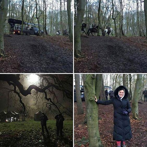 #OutlanderSeason2  #BehindTheScenes . Via #DianaGabaldon fb . #Outlander #OutlanderStarz #OutlanderSeries