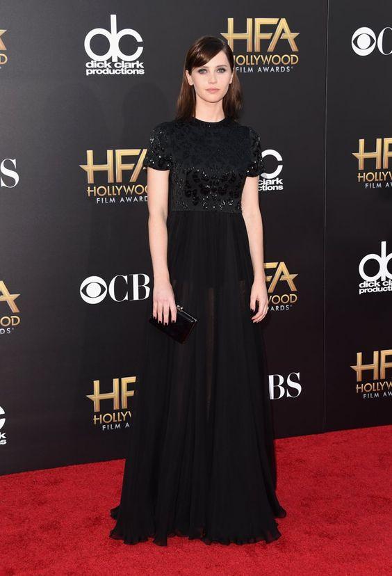 Pin for Later: Toutes Nos Stars Favorites Ont Assisté Aux Hollywood Film Awards Felicity Jones