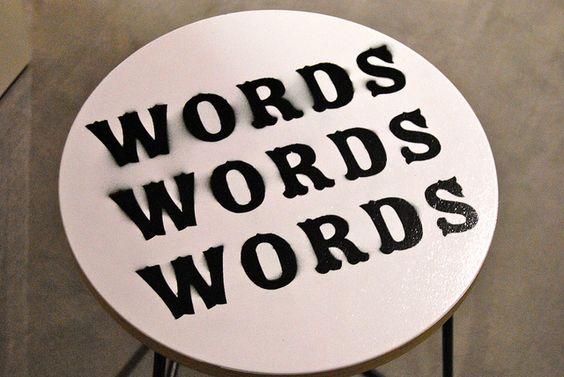 Selfridges Words Words Words Pop Up Library