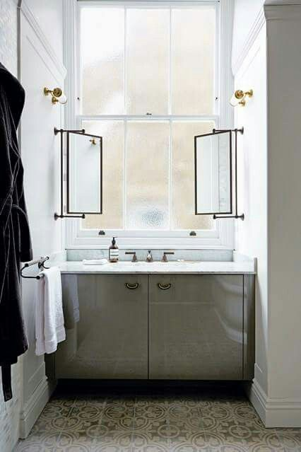 bathroom mirrors framed cool mirror idea when you want a window home 11132
