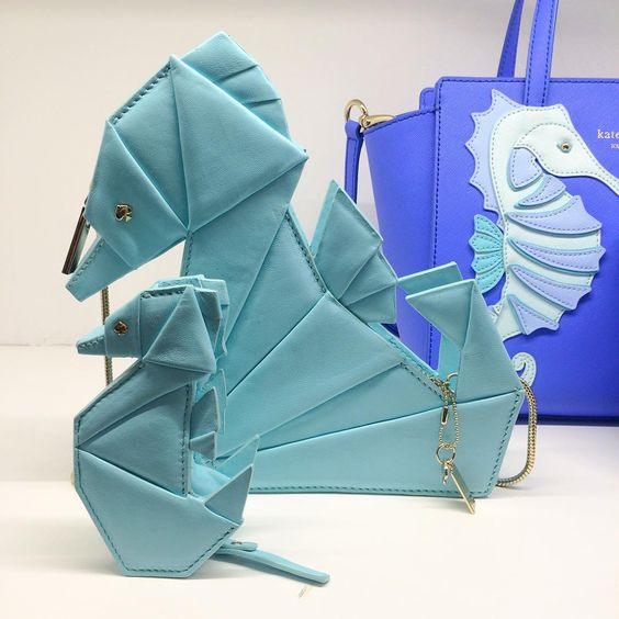 """Brb, obsessing over these seahorse bags from @katespadeny . : @sarah_ball"" -people_style Instagram"