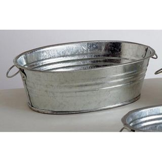Galvanized Oval Tub-5 inch