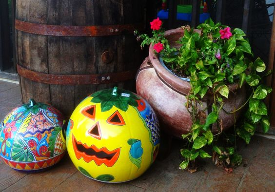 Make your front porch look great this fall at the Pottery Shop.