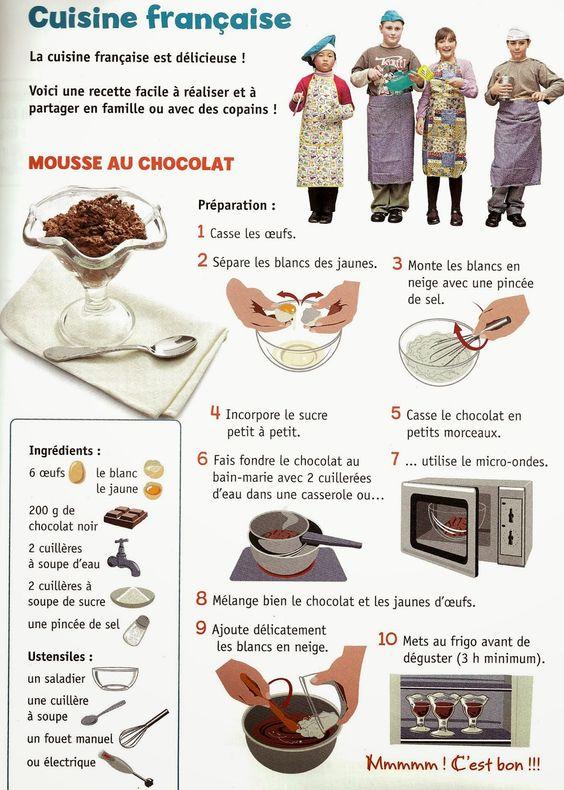 mousse au chocolat ranskaa keitti n kautta pinterest. Black Bedroom Furniture Sets. Home Design Ideas