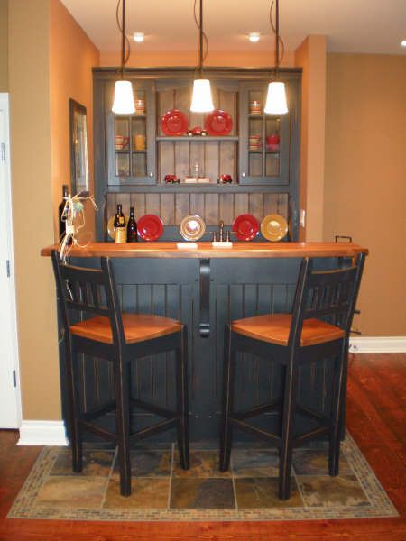 Types of wet bars home bar plans easy designs to build your own bar gameroom pinterest - Family room bar designs ...
