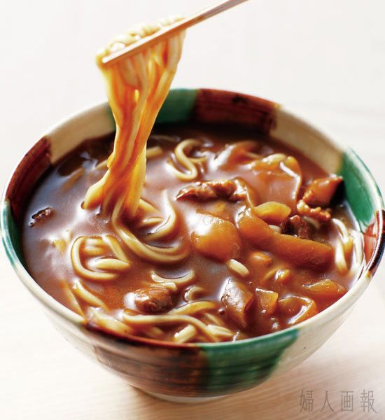 Photo: Japanese Curry Udon Noodles|カレーうどん