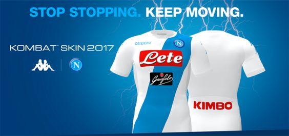 Nova camisa reserva do Napoli
