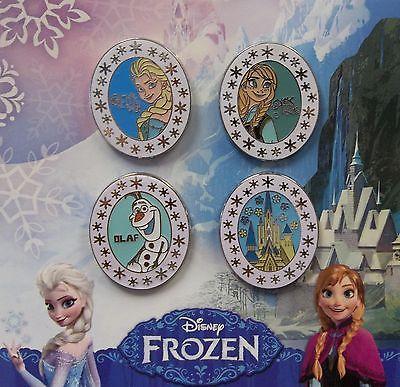 Disneyland-WDW-Frozen-Elsa-Anna-Olaf-Arendelle-Kingdom-Booster-4-Disney-Pin