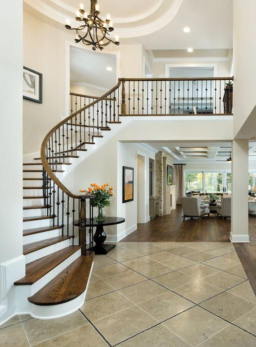 Waxhaw Luxury Designer Home Photo Luxuryhomeinterior Luxury House Plans Luxury House Staircase Design