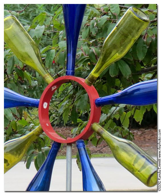 Randy & Meg's Garden Paradise: Bottle Flowers from Kure Beach